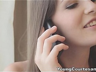 Young Courtesans - She is a playful teen student