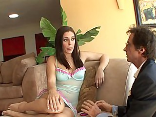 Young playful cutie Gracie Glam egerly seduced her boiler-maker boilermaker staddy