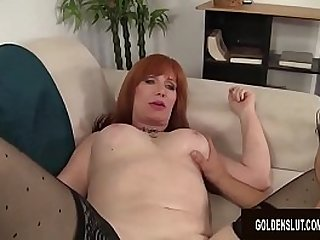 Mature Freya Fantasia Fucks a Young Guy