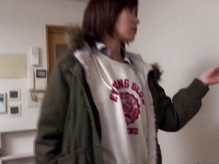 Japanese legal age teenager pounded after engulfing 10Pounder