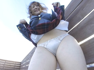 Schoolgirl Uniform Upskirt VR Part 1 - PetersMAX
