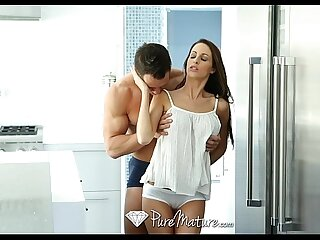 PureMature - Hot brunette Kortney Kane is craving some cock
