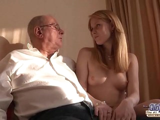Old Young Porn Grandpa likes to fuck young girls and lick pussies