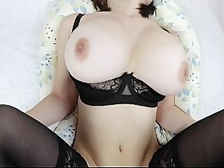 FUCKED TEEN BIG TITS GIRLFRIEND IN WET PUSSY AND TIGHT ASS