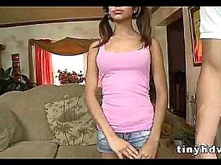 Teenie tiny girl fucked silly Veronica Rodriguez 8 91