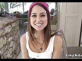 Teenie tiny girl fucked silly Riley Reid 8 91